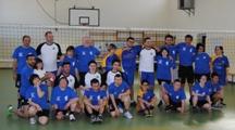 """Volley diversamente abili: amichevole con team """"Fuori Onda"""""""