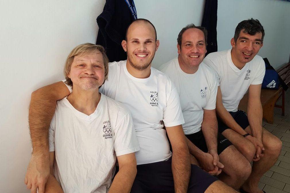 """La squadra di nuoto dell'ASCD Silvana Baj al """"Terzo Meeting Sportabili"""""""