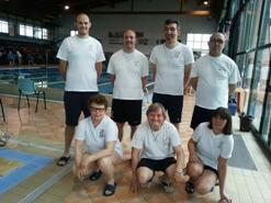 """La squadra di nuoto dell'ASCD Silvana Baj al """"Tredicesimo Trofeo Lauretana e Burro Brussino"""""""