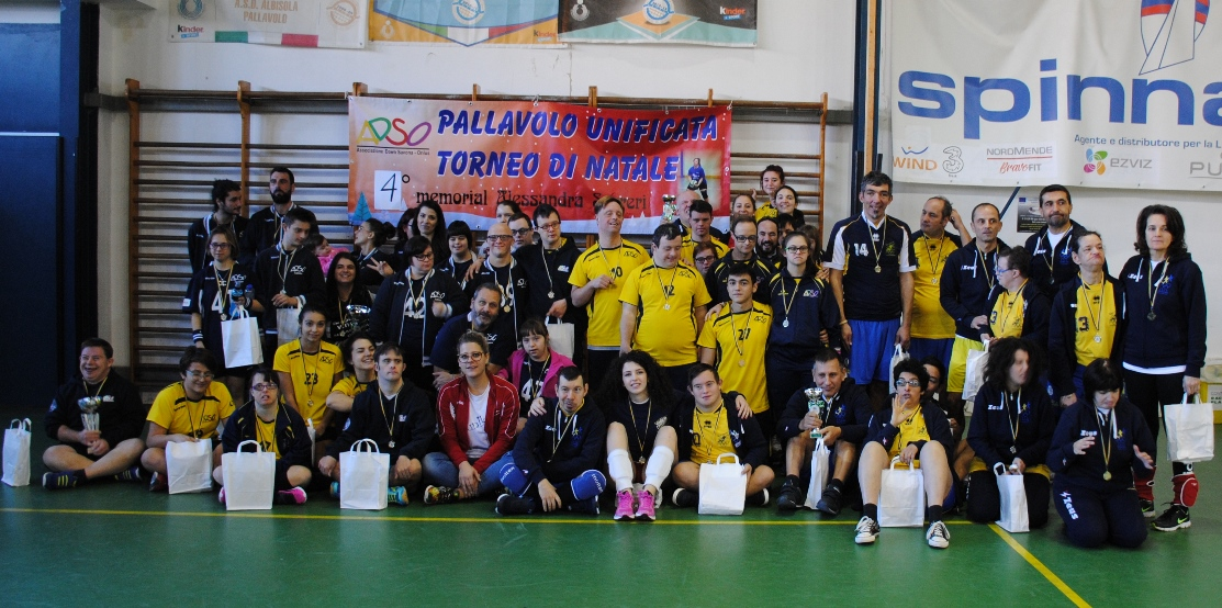 "Volley diversamente abili: ""Silvana Baj"" in Liguria"