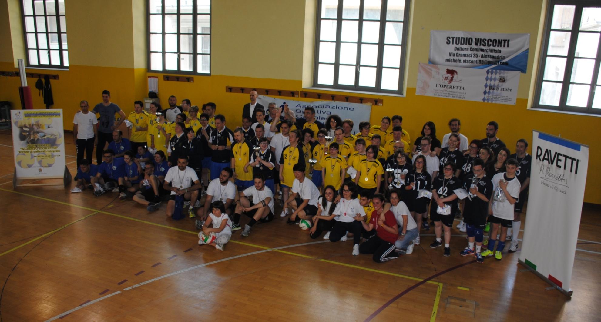 Volley diversamente abili: XVIII Trofeo Fioretta
