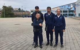 La squadra di nuoto dell'ASCD Silvana Baj al 14° Trofeo Lauretana e Burro Brussino