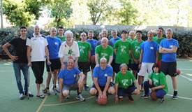 Diversamente abili: fine attività con il basket, amichevole con ODA