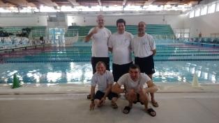 """La squadra di nuoto dell'ASCD Silvana Baj al 5° Trofeo """"Franco Ruffa"""""""