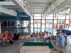 Diversamente abili: ultima attività in piscina della stagione