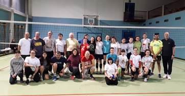 Volley diversamente abili: allenamento speciale