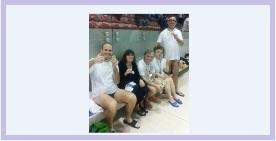 """La squadra di nuoto dell' ASCD Silvana Baj ai Campionati Regionali di Nuoto """"Memorial Flavio Rossi"""""""