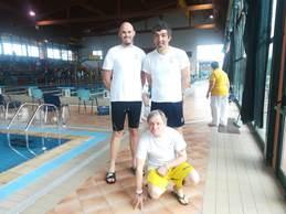 La squadra di nuoto dell'ASCD Silvana Baj al XV Trofeo Lauretana e Burro Brussino